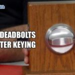 Abloy Deadbolts and Master Keying | Vancouver Locksmith Blog